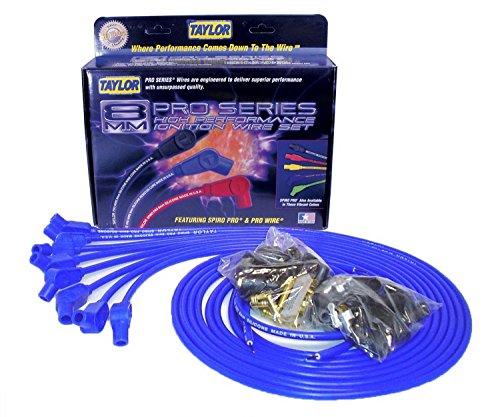 Taylor Cable 73653 Spiro-Pro Blue Spark Plug Wire Set