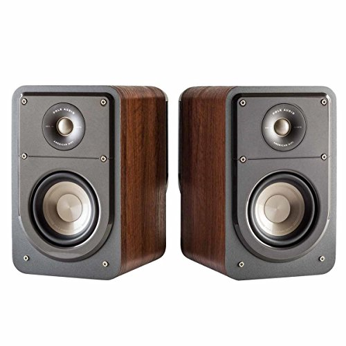 S15 Drivers (Polk Audio Signature Series S15 American Hi-Fi Home Theater Small Bookshelf Speakers - Pair (Classic Brown Walnut))