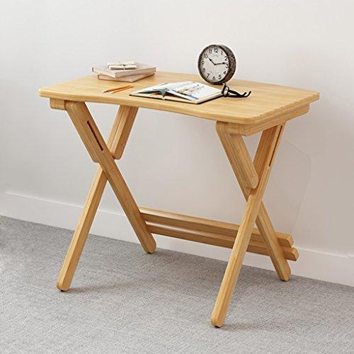 Mesa Moderna De Escritorio Plegable Mesa De Aprendizaje Bambú Mesa Ajustable Mesa De Escritorio Infantil Opcional ( Tamaño : 70cm )