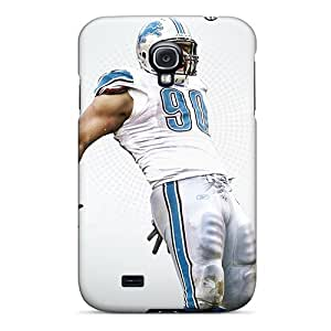 Top Quality Rugged Ndamukong Suh Detroit Lions Football Player Case Cover For Galaxy S4