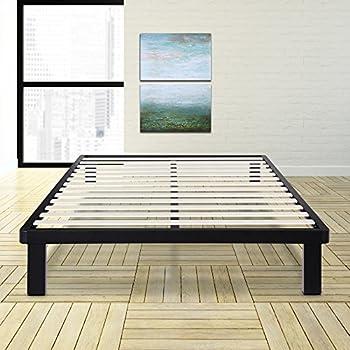 Amazon Com Olee Sleep 14 Inch Tall Dura Metal Wood Slat