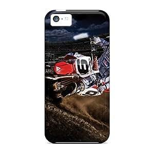 Unique Design Iphone 5c Durable Tpu Cases Covers Fox Racing Black Friday