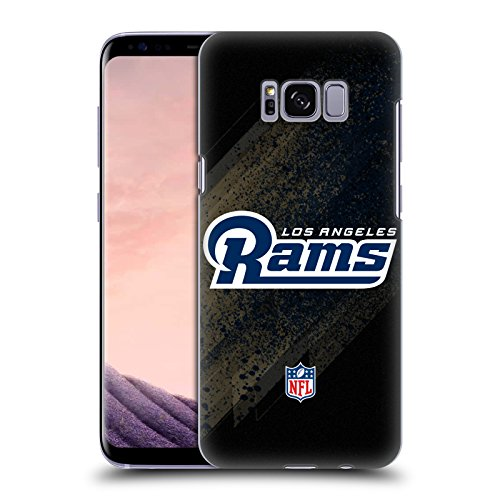 Official NFL Blur Los Angeles Rams Logo Hard Back Case for Samsung Galaxy S8 by Head Case Designs