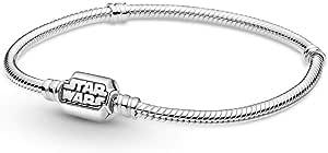 Pandora Star Wars 599254C00-17 - Pulsera de serpiente de plata de ley