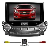 BlueLotus for Chevrolet Malibu 2013 2014 In-dash 8″ Touchscreen DVD Player GPS Navigation Tv Radio Bluetooth Steering Wheel Control RDS USB Ipod Av + Reverse Car Rear Camara + Free USA Map Review