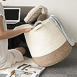 Goodpick Cotton Rope Storage Basket- Jute Basket