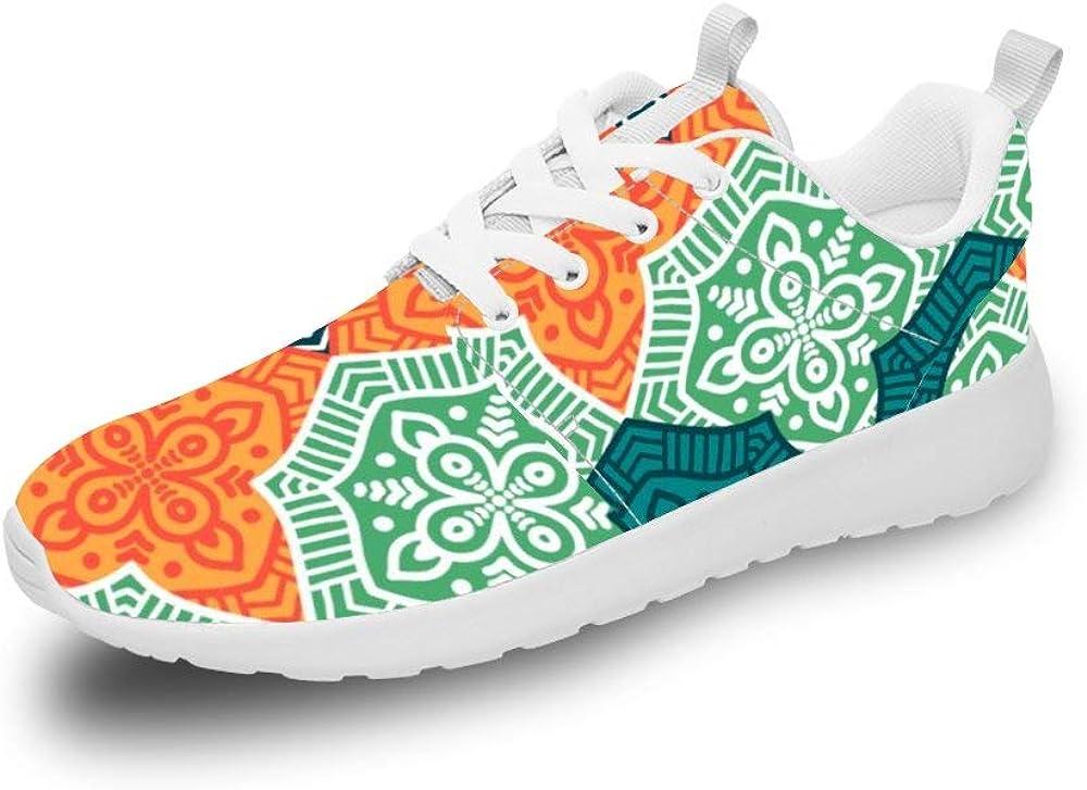 Mesllings Zapatillas de Running Unisex con diseño de Mandala Vintage, sin Costuras, 1 par de Zapatos Deportivos Ligeros para Exteriores: Amazon.es: Zapatos y complementos