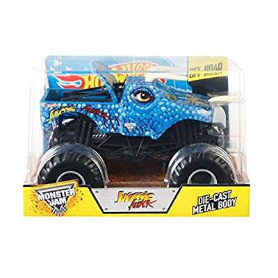 Hot Wheels Monster Jam 1:24 Scale Jurassic Attack Vehicle: Toys & Games
