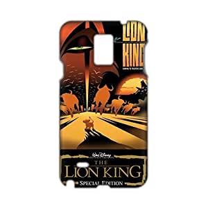 Angl 3D Cartoon The Lion King Phone For SamSung Note 2 Case Cover