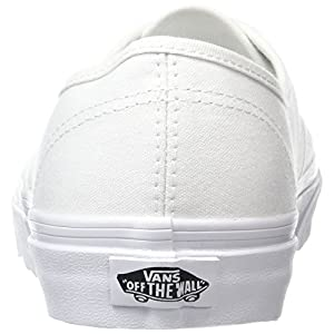 Vans VANS AUTHENTIC SKATE SHOES 5.5 (TRUE WHITE)