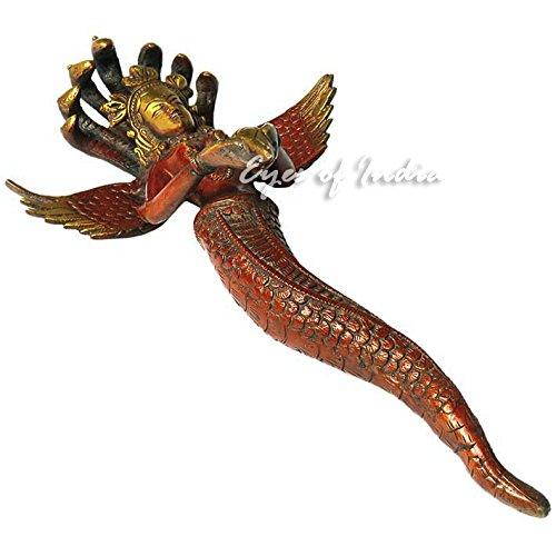EYES OF INDIA Naga Serpent Wall Hanging Sculpture