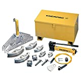Enerpac STB-221N Hydraulic Pipe Bender Set for 1'' to 4'' OD Pipe, Hydraulic Hand Pump