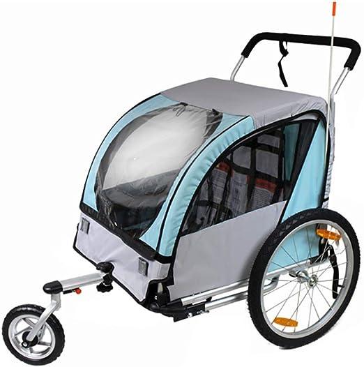 Remolque de bicicleta para niños Asiento simple y doble asiento ...