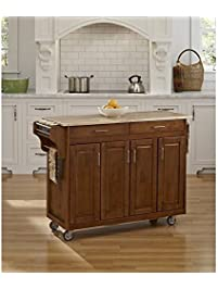 Home Styles 9200 1061 Create A Cart 9200 Series Cabinet Kitchen Cart With