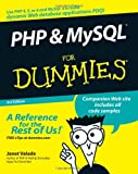 PHP and MySQL, Janet Valade, 0470096004