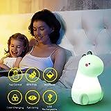 Dinosaur Night Light for Kids, LED Nursery Lamp for
