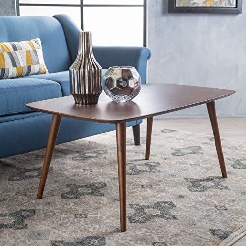 Christopher Knight Home Cilo Walnut Wood Coffee Table