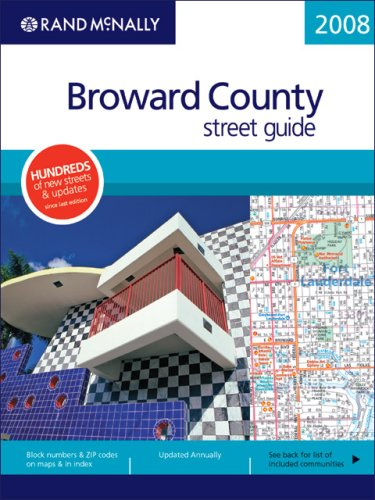 Rand mcnally 2007 tampast petersburg street guide including rand mcnally 2008 broward county street guide florida rand mcnally broward county street guide sciox Image collections