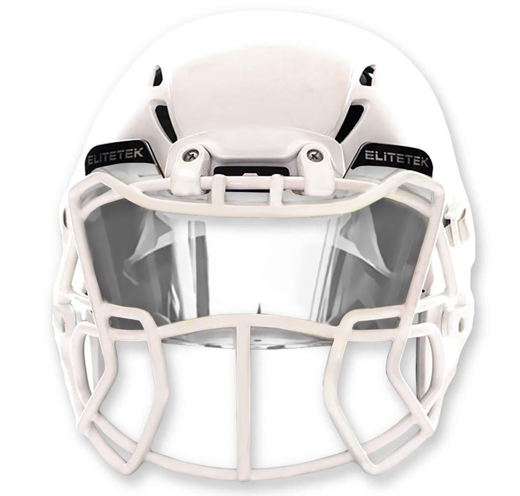 EliteTek Clear Football Visor Eyeshield Universal