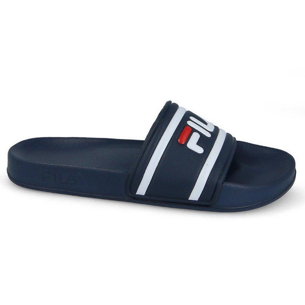 92dd84d978a3 Fila Flip Flops - Morro Bay Slipper Blue White Size  42  Amazon.co.uk   Shoes   Bags