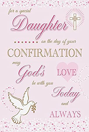 ICG For A Special Granddaughter On your Confirmation Card