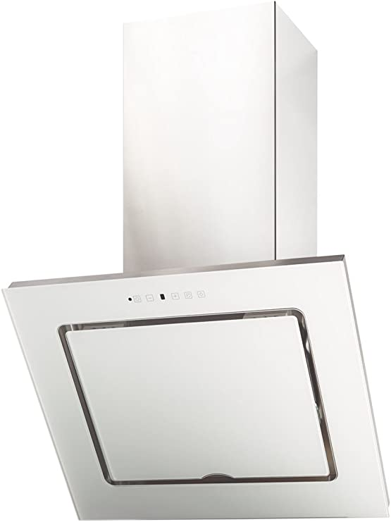 Termikel pared Campana genf60 Vertical Cristal, 60 cm de ancho, cristal blanca: Amazon.es: Grandes electrodomésticos