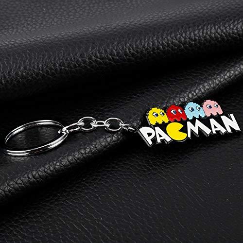 MINTUAN Cute Jewelry Cartoon Angey Birds Llavero Pacman ...