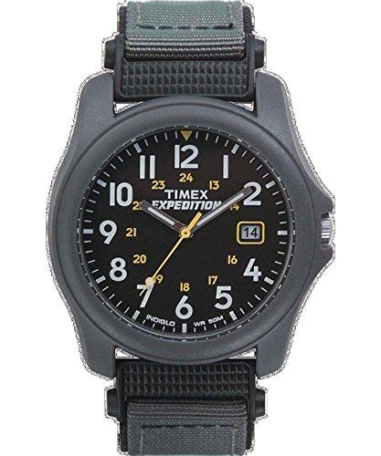 (Timex Expedition Camper Nylon Strap Watch - Black)