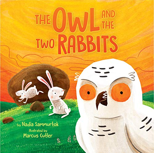 (The Owl and the Two Rabbits)