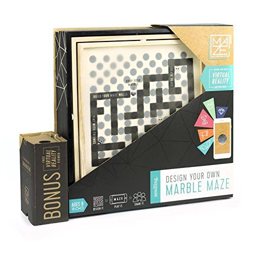 Seedling Design Your Own Marble Maze: Award Winning DIY Virtual Reality Game, Educational STEM Toy for Ages 8+ Year Olds, Great Gift for Kids (iPhone, iPad, iPod, Android) by Seedling (Image #4)