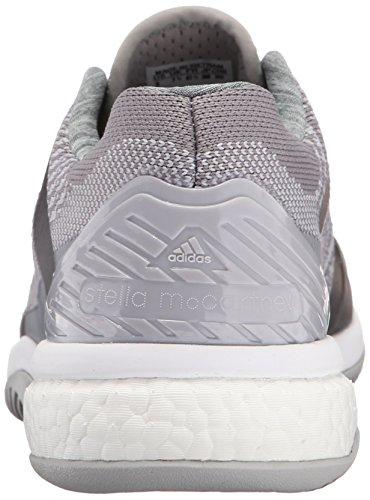 Adidas Barricade ASMC refuerzo de la formación de calzado, Misterio Gris / universo / blanco, 5 M U Mystery Grey/Universe/White