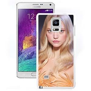 Unique Designed Cover Case For Samsung Galaxy Note 4 N910A N910T N910P N910V N910R4 With Gemma Ward Girl Mobile Wallpaper(7) Phone Case