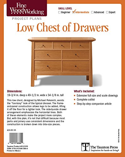Fine Woodworking S Low Chest Of Drawers Plan Fine Woodworking