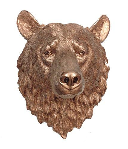 resin bear head - 3