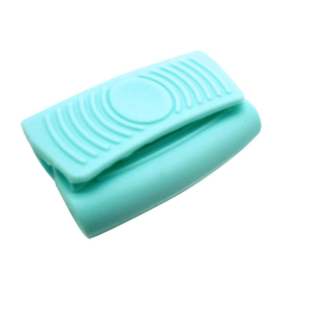 LiPing ミニミット 調理 オーブンピンチグリップ 熱断熱 パン イヤークリップ 家具を水汚れやダメージから保護 断熱 M  ライトブルー B07JJR1KQH