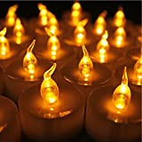 miniature timer - 12pcs Tea Lights Led Timer 6 Hours Battery Operated Mini Candles, Long Lasting Timed Tea Lights Flickering Yellow Gifts for Holiday, Church, Home Kitchen Decoration