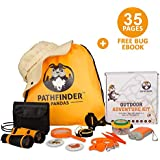 Kids Explorer Kit | Premium Kids Camping Toys and Outdoor Adventure Kits for Boys and Girls 3-12 Years Old |Backyard Safari Hat Kids Binoculars, Flashlight, Bug Kits for Kids, Compass, Ebook and More