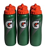 : Gatorade 32 Oz Squeeze Water Sports Bottle - Value Pack of 6 - New Easy Grip Design for 2014
