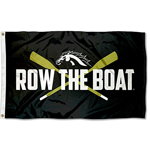College Flags and Banners Co. Western Michigan Broncos Row The Boat Flag