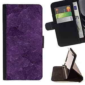 For Sony Xperia Z1 Compact / Z1 Mini (Not Z1) D5503 Case , Modelo de la textura en colores pastel hermoso- la tarjeta de Crédito Slots PU Funda de cuero Monedero caso cubierta de piel