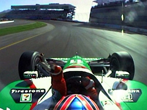 The 2003 Indianapolis 500-de Ferran's - Indy 500 Day Race