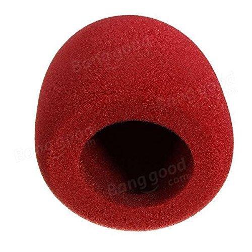 Moppi Handheld Stage Microphone Windshield Sponge Foam Mic Cover