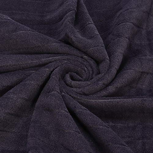 Navy Blue Warm Blanket - Sports & Outdoor - 1PCs by Unknown (Image #6)