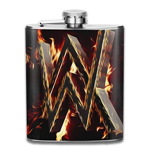 BeatriceBGault Alan Walker Leisure Gifts Stainless Steel 7 Oz Flask/Hip ()