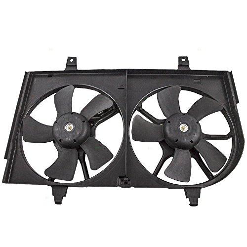 A/c Radiator Cooling Fan (Dual Radiator AC A/C Condenser Cooling Fan Replacement for Nissan Infiniti B1481-5U002)