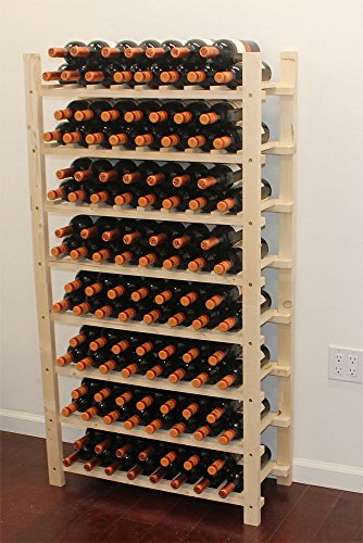 Stackable Wine Rack Storage Cellar Display Shelves