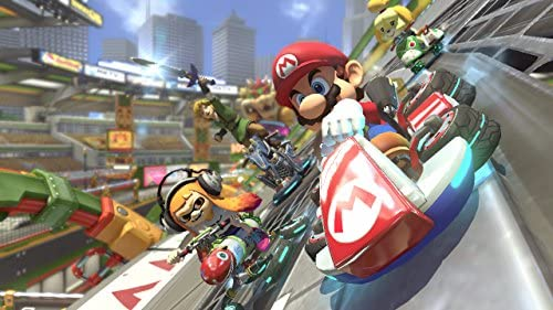 Amazon Com Mario Kart 8 Deluxe Nintendo Switch Digital Code