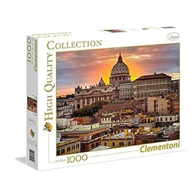 Clementoni 39341 Puzzle Roma Assaf 1000 Pezzi Multicolore