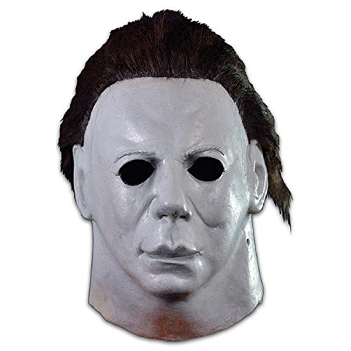 (Loftus International Trick or Treat Studios Halloween II Hospital Full Head Mask Grey One-Size Novelty)