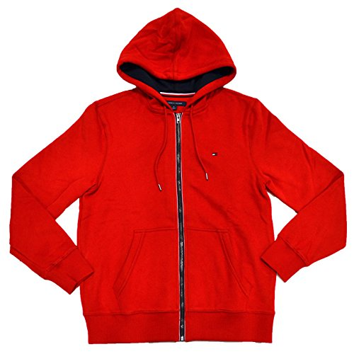1ad7dd083c64 Tommy Hilfiger Mens Full Zip Hoodie at Amazon Men's Clothing store:
